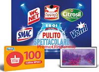 "Logo ''Eroi di Casa 2019 - Pulito Spettacolare'': vinci card spesa da 100€ e 1 TV Samsung da 55"""
