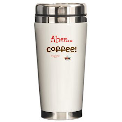 Funny Coffee Demand Ceramic Travel Mug