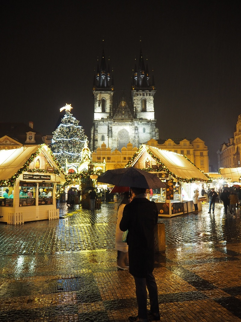 Old Town Square Prague at Christmas