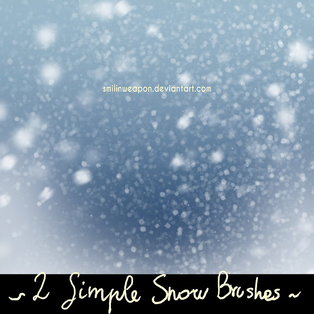 free photoshop brush download snow brushes