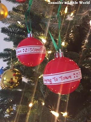 Christmas crafts using ribbon