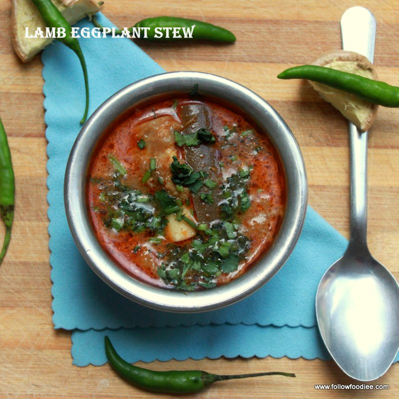 Lamb Eggplant Stew Recipe