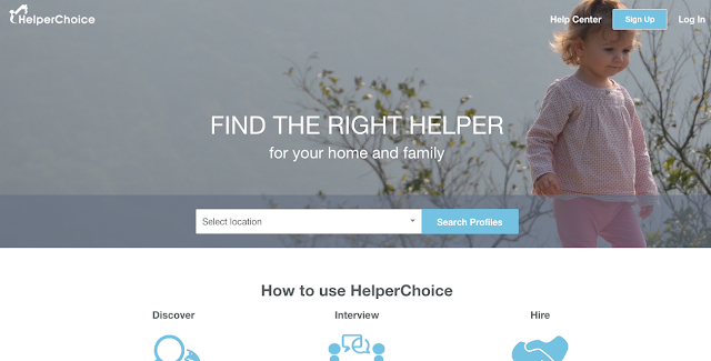 Helper Choice: a meet-and-match website for domestic helpers who want to work abroad