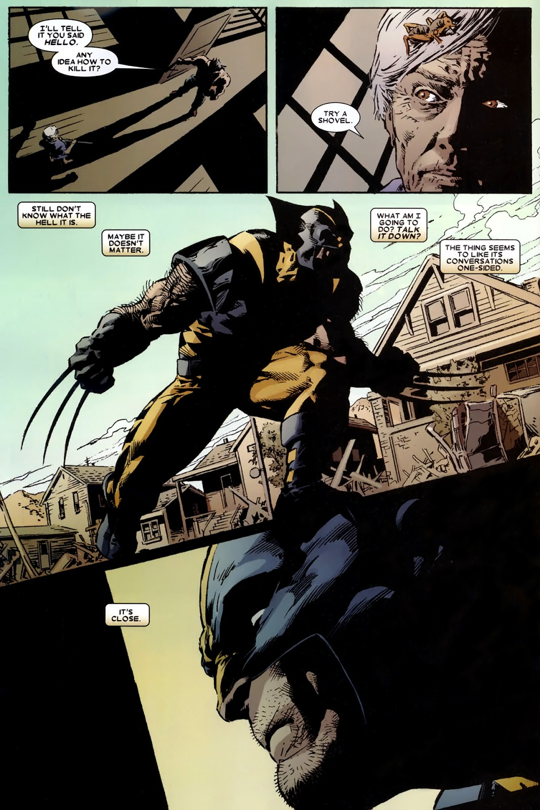 Read online Wolverine (2003) comic -  Issue # Annual 2 - 22