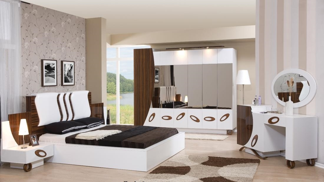 Latest modern bed design catalogue and wooden bedroom furniture