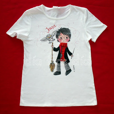 Camiseta Harry Potter personalizada