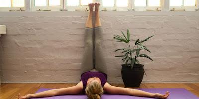 Tư thế tập yoga nằm ngửa