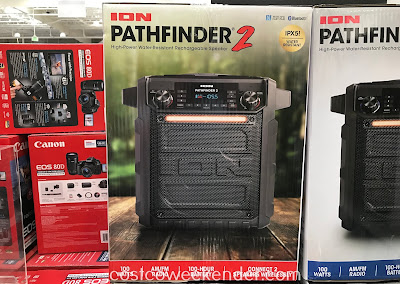 Listen and stream music from your smartphone with the Ion Pathfinder 2 Bluetooth Speaker