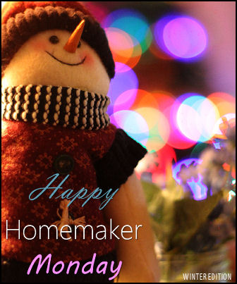 Happy Homemaker Monday - 12/19/2016