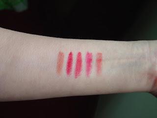 Laura Geller Iconic Baked Sculpting Lipsticks swatches.jpeg