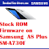 Stock ROM Firmware on Samsung  A8 Plus SM-A730F