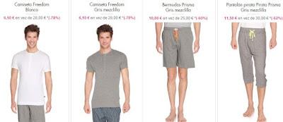camisetas pantalones