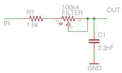 RAT filter schematic