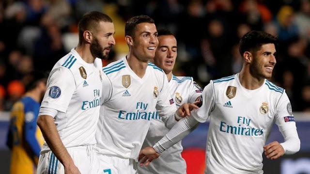 Skor Akhir 1-4, Valencia vs Real Madrid di Liga Spanyol