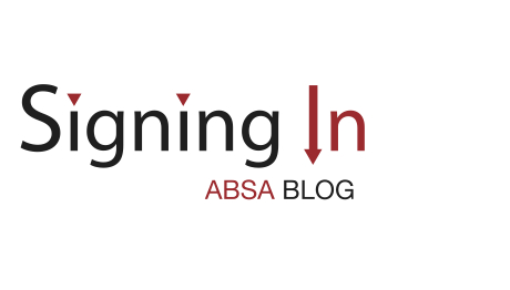 Signing In - the ABSA Blog