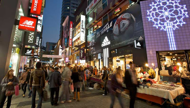 Myeongdong Korea Selatan