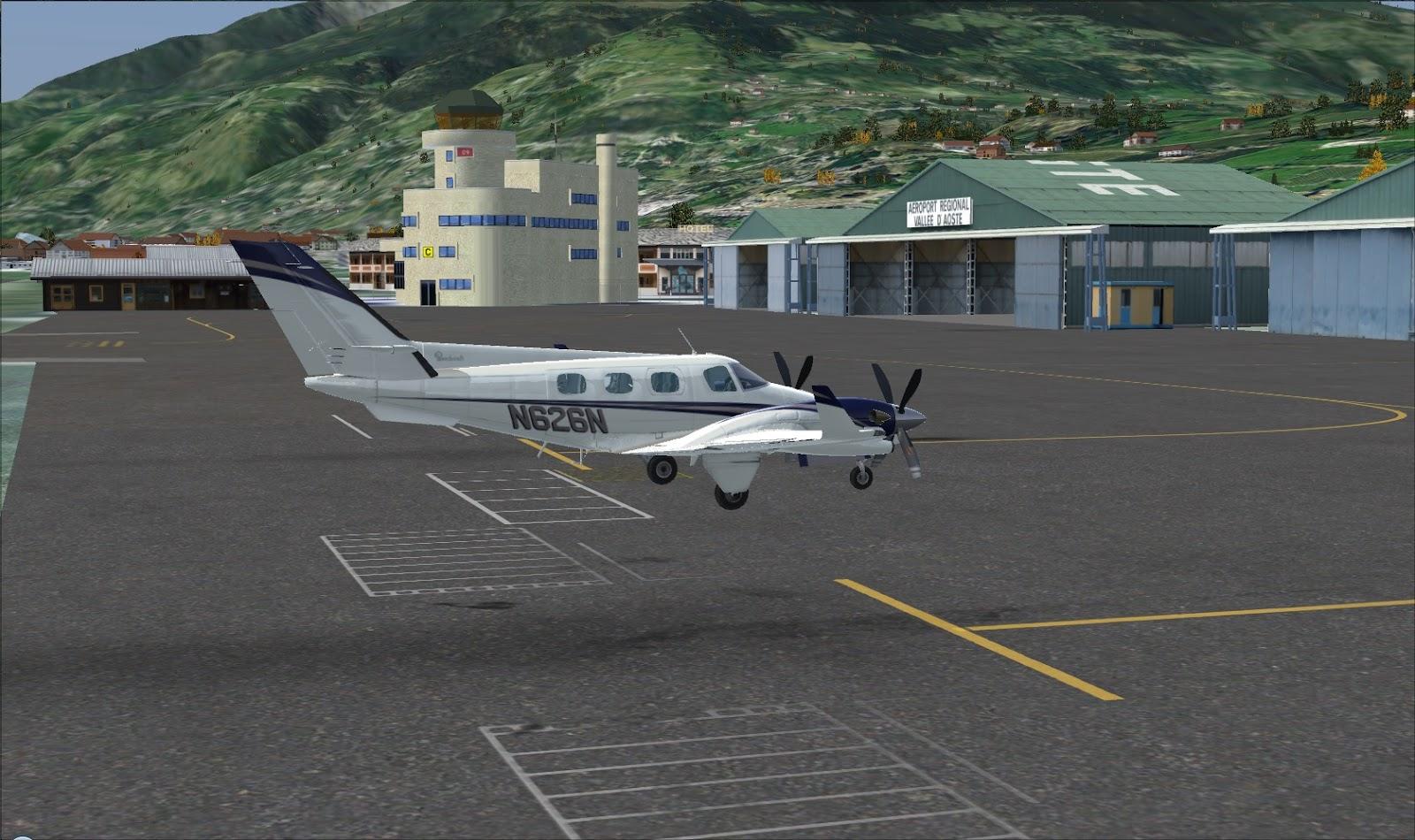 Aeroporto Aosta : Flysimreal fsx addon questo sconosciuto ^ parte