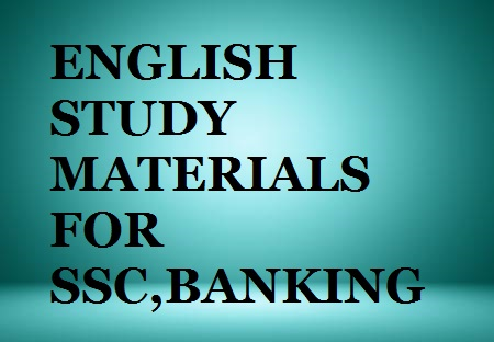 Download English Books,Materials and Notes for SSC,Banking and Other General Competitive Exams in PDF