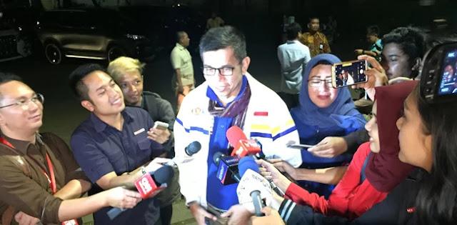 Perwakilan Demokrat Yang Terakhir Datang Di Kediaman Prabowo
