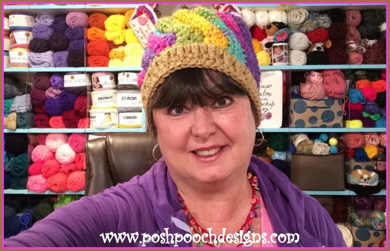 Posh Pooch Designs Dog Clothes: Birthday Free Crochet