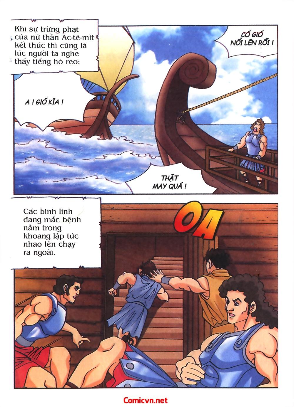 Thần Thoại Hy Lạp Màu - Chapter 54: Tiến về thành Troy - Pic 2