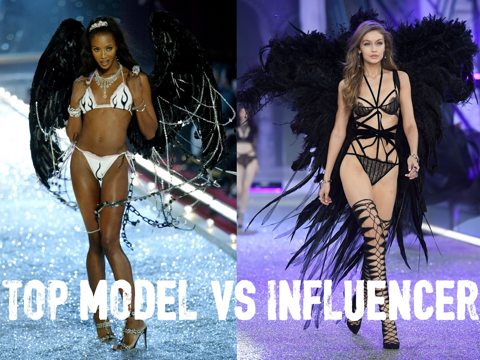 Eniwhere Fashion - Top Model vs Influencer