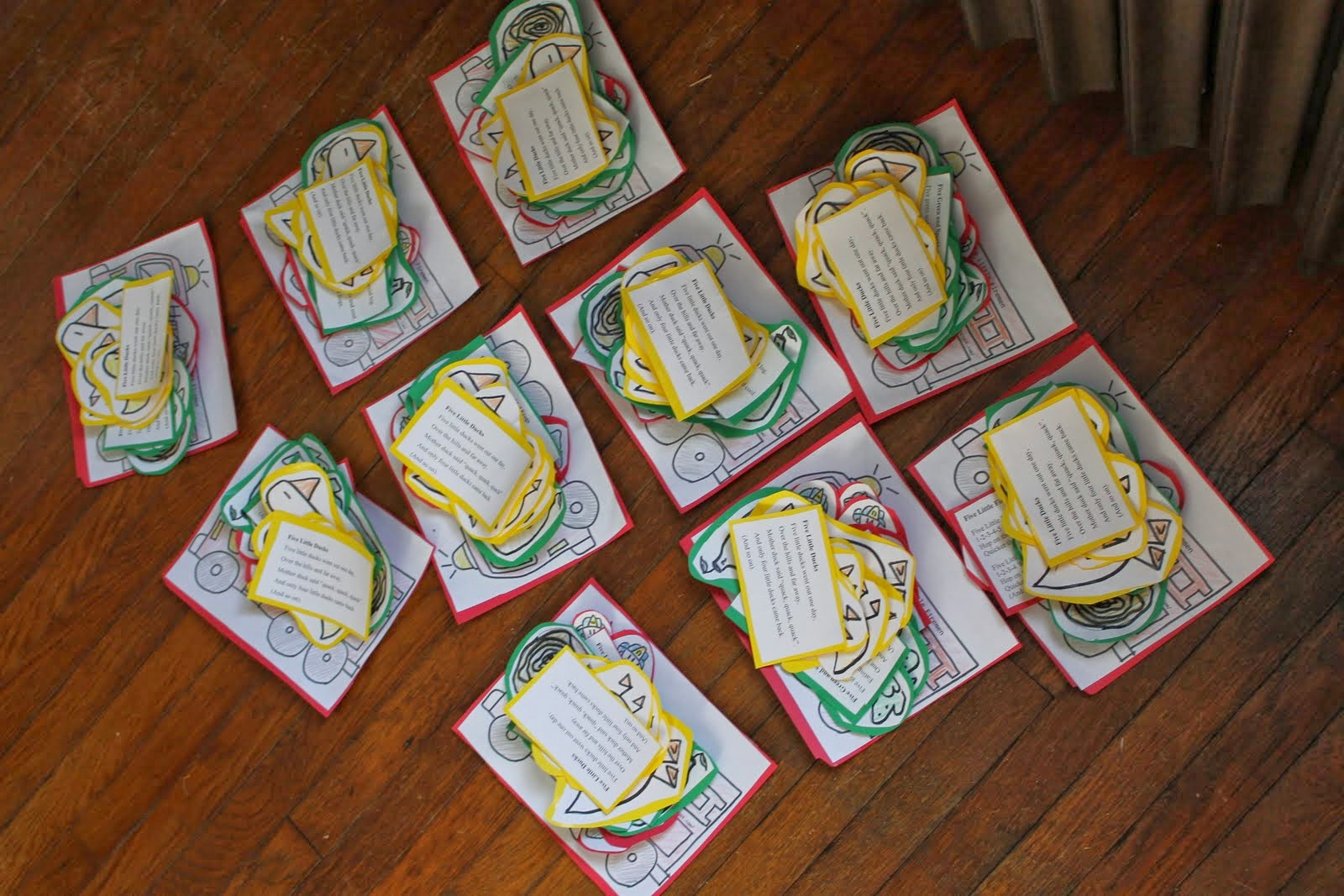 Born Imaginative Busy Bag Swap Song Manipulative Printables Giveaway