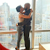 See Adesua Etomi's reaction moments after announcing her engagement to Banky W