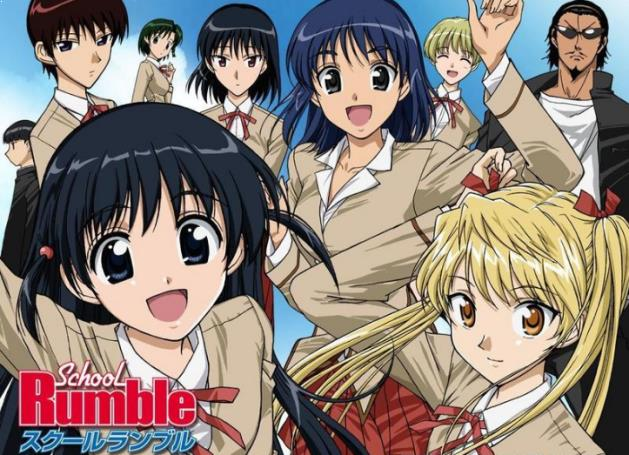 School Rumble - Daftar Anime Romance School Terbaik Sepanjang Masa