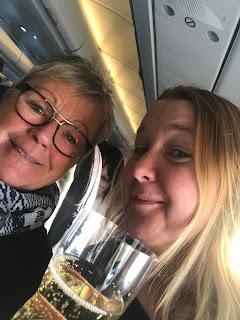 Att landa - i New York