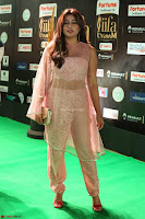 Nidhi Subbaiah Glamorous Pics in Transparent Peachy Gown at IIFA Utsavam Awards 2017  HD Exclusive Pics 65.JPG