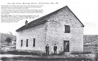 Image of Providence Church, Clark County, Kentucky.