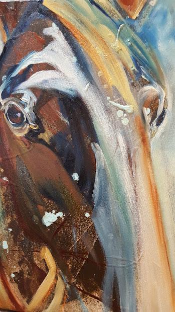 Abstract Horse Art January 2017