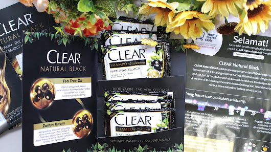 REVIEW CLEAR NATURAL BLACK shampoo anti ketombe