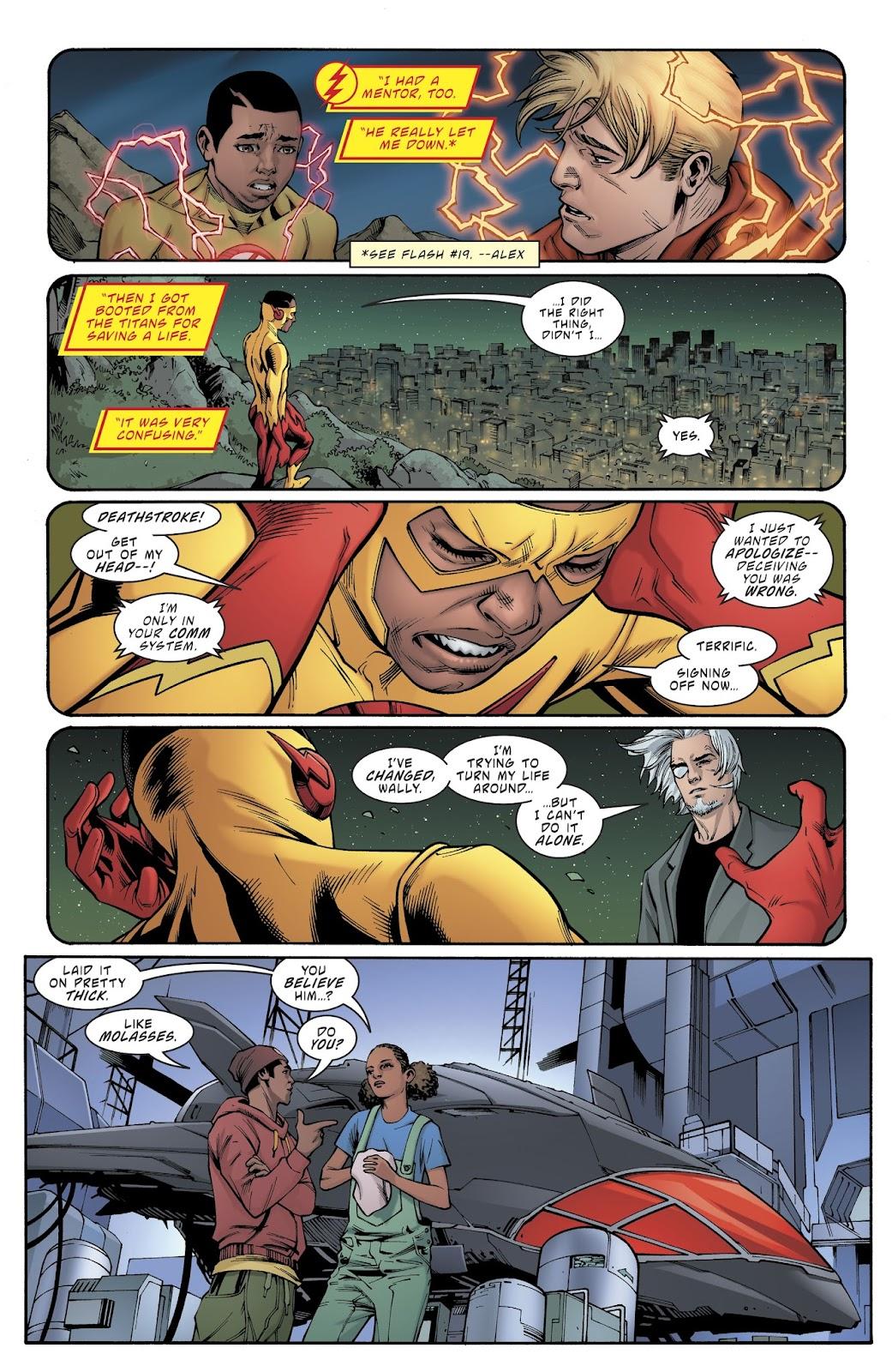 Read online Deathstroke (2016) comic -  Issue #21 - 15