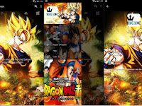 BBM MOD ANIME Dragon Ball v3.0.1.25 Full Features Clone / Unclone Apk Terbaru 2016