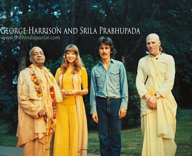 "George Harrison"" that who embraced the Hare Krishna tradition"