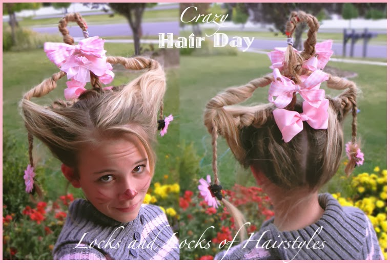 Crazy Hair Day Quick Easy Hairstyles Www Picswe Com