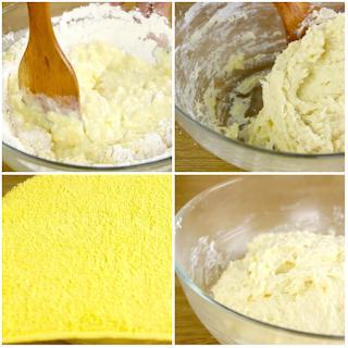 Cách làm bánh mì phô mai tan chảy dùng gelatine 7