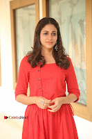 Actress Lavanya Tripathi Latest Pos in Red Dress at Radha Movie Success Meet .COM 0062.JPG