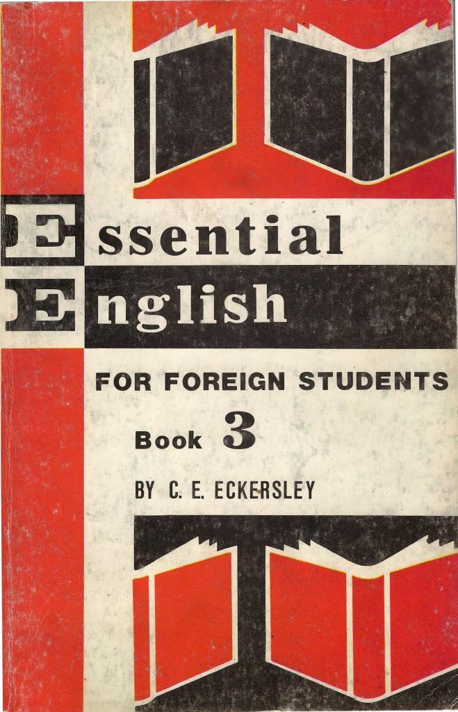 Essential English for foreign students, Book 3