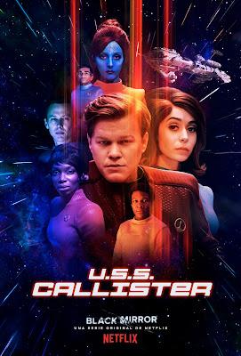 Los Lunes Seriéfilos - Black Mirror -  U.S.S. Callister