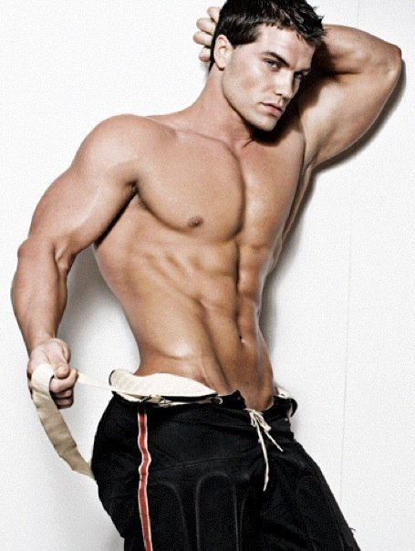 The Guy Collection: Amazing Muscle Male Model Jed Hill