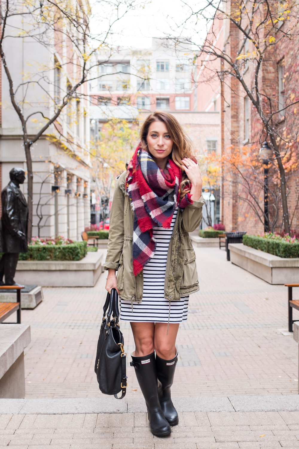 OOTD - Stripes + Plaid and Why I Hate The Term Basic