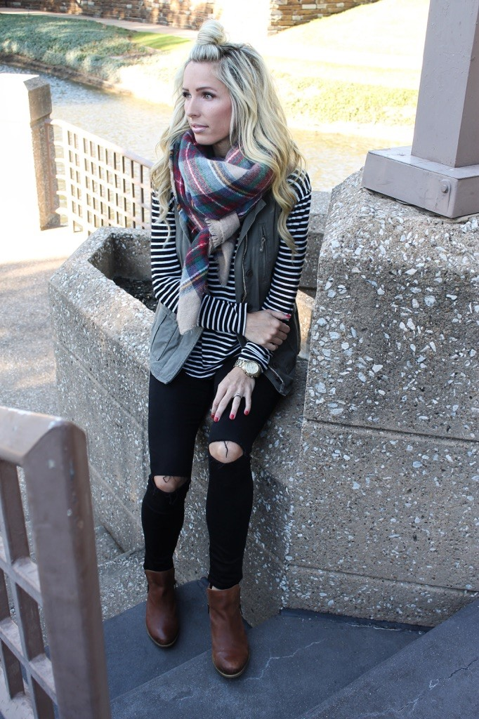 Casual Stripes & Plaid