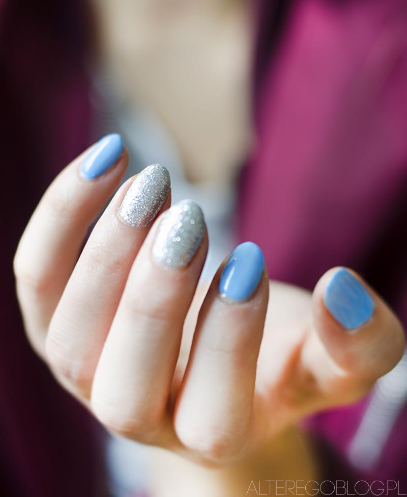 semilac 144,semilac diamond ring, semilac 084, semilac denim blue, paznokcie hybrydowe