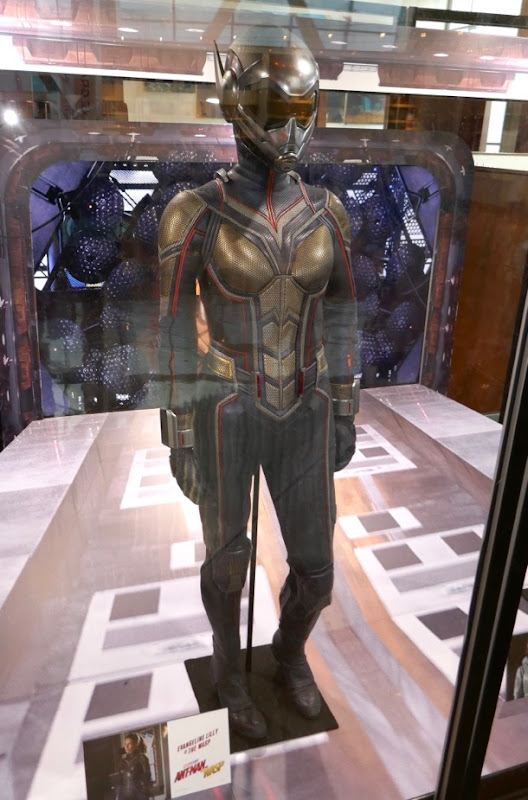Evangeline Lilly Wasp movie costume