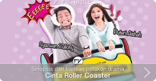 (Sinopsis, Pelakon) Cinta Roller Coaster - Slot Dahlia TV3