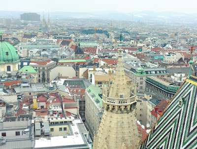 Rooftop views - Vienna