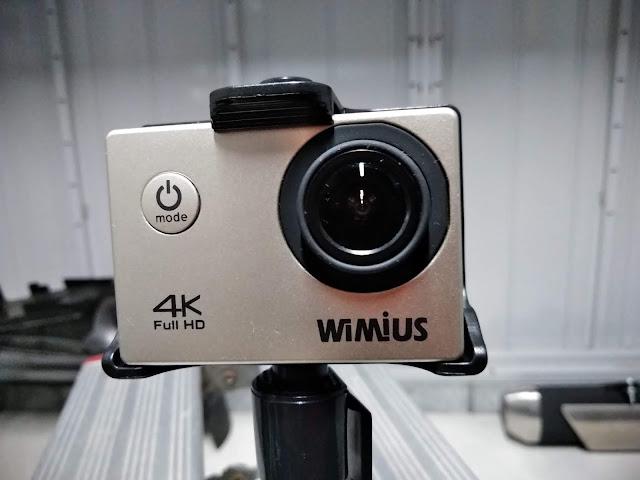 アクションカメラ WiMius Q1の写真